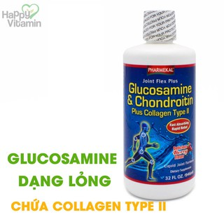 Joint Flex Plus - Glucosamine dạng lỏng Chứa Collagen Type II - Giảm đau khớp nhanh chóng - HAJOPH946ML thumbnail
