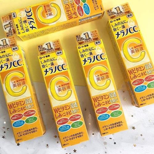 Tinh chất trị thâm vitamin c melano