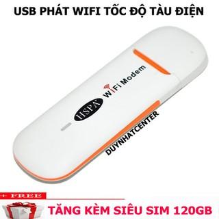 USB PHÁT SÓNG WIFI 3G HSPA _SIÊU TỐC ĐỘ, BỨT PHÁ MỌI KHOẢNG CÁCH - ĐẲNG CẤP USB DCOM CHÍNH HÃNG hspa thumbnail