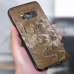 Ốp lưng điện thoại Samsung Galaxy S8 - hình Điêu Khắc MS DKHAC008