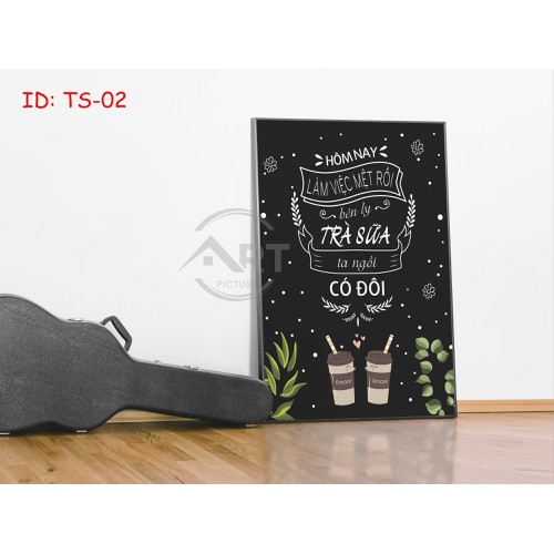Tranh trang trí treo tường tạo động lực: hôm nay làm việc mệt rồi, bên ly trà sữa ta ngồi có đôi - 12291275 , 21062593 , 15_21062593 , 149000 , Tranh-trang-tri-treo-tuong-tao-dong-luc-hom-nay-lam-viec-met-roi-ben-ly-tra-sua-ta-ngoi-co-doi-15_21062593 , sendo.vn , Tranh trang trí treo tường tạo động lực: hôm nay làm việc mệt rồi, bên ly trà sữa ta