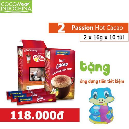 Combo: 2 hộp passion hot ca cao hòa tan - tặng ống tiết kiệm 12 con giáp - 13039989 , 21070250 , 15_21070250 , 118000 , Combo-2-hop-passion-hot-ca-cao-hoa-tan-tang-ong-tiet-kiem-12-con-giap-15_21070250 , sendo.vn , Combo: 2 hộp passion hot ca cao hòa tan - tặng ống tiết kiệm 12 con giáp