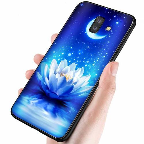 Ốp điện thoại dành cho máy samsung galaxy a6 2018 - đủ nắng thì hoa nở ms dnthn020