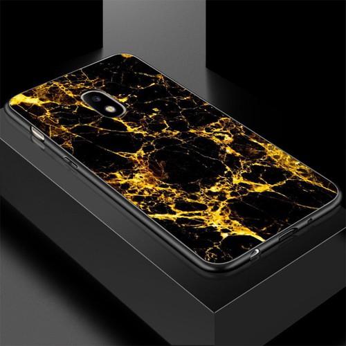 Ốp lưng cứng viền dẻo dành cho điện thoại samsung galaxy a3 2015 - hình vân đá ms vanda004