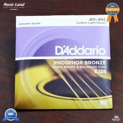 Dây đàn Guitar Acoustic D-Addario EJ26