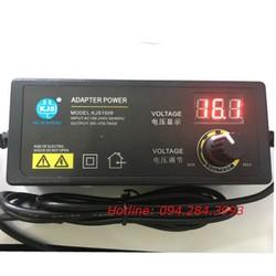 Bộ adapter chỉnh nguồn đa năng từ 3v đến 24v 2.5A