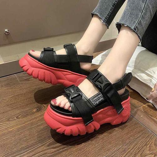 Giày sandal ulzzang đế bánh mì siêu cấp đế đỏ - 13036244 , 21065361 , 15_21065361 , 180000 , Giay-sandal-ulzzang-de-banh-mi-sieu-cap-de-do-15_21065361 , sendo.vn , Giày sandal ulzzang đế bánh mì siêu cấp đế đỏ