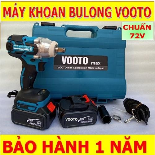 Máy siết bulong – máy siết bulong – máy siết bulong dùng pin  72v voto 2 pin