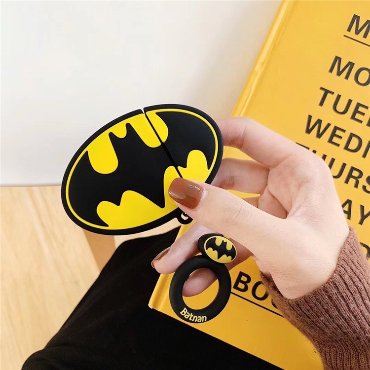 Ốp Airpods 1/2 Logo Batman-PK282