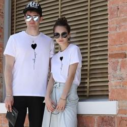Áo Thun Cặp Đôi Nam Nữ Phong Cách Hot Trend