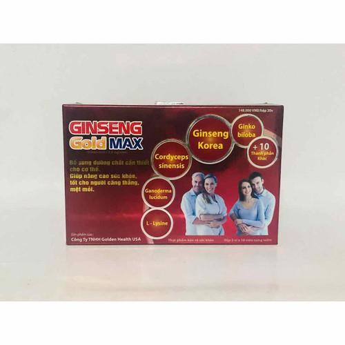 Ginseng gold max - bổ sung dưỡng chất cho cơ thể - 12291478 , 21069516 , 15_21069516 , 150000 , Ginseng-gold-max-bo-sung-duong-chat-cho-co-the-15_21069516 , sendo.vn , Ginseng gold max - bổ sung dưỡng chất cho cơ thể