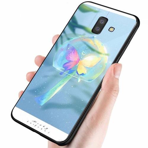 Ốp lưng cứng viền dẻo dành cho điện thoại samsung galaxy j8 - ánh trăng nghệ thuật ms trang006