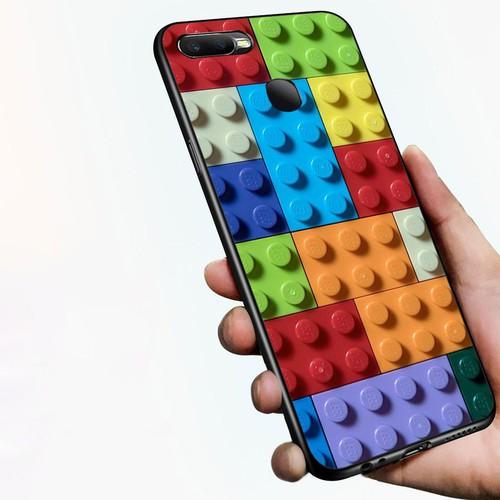 Ốp lưng cứng viền dẻo dành cho điện thoại oppo f9 - xếp hình ms xhinh004