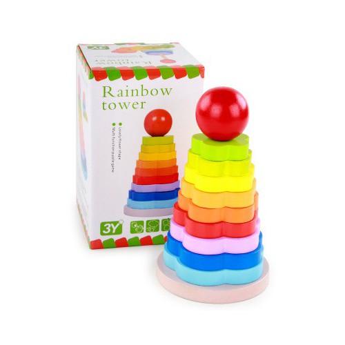 ❤️ đồ chơi gỗ ❤️ xếp chồng hình hoa tháp cầu vồng 11 tầng tg70 - 20057656 , 25261876 , 15_25261876 , 102600 , -do-choi-go-xep-chong-hinh-hoa-thap-cau-vong-11-tang-tg70-15_25261876 , sendo.vn , ❤️ đồ chơi gỗ ❤️ xếp chồng hình hoa tháp cầu vồng 11 tầng tg70