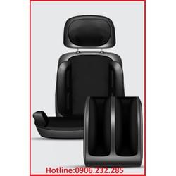 Ghế massage toàn thân - Bộ ghế massa toàn thân mẫu full cổ , lưng ,cả bàn chân