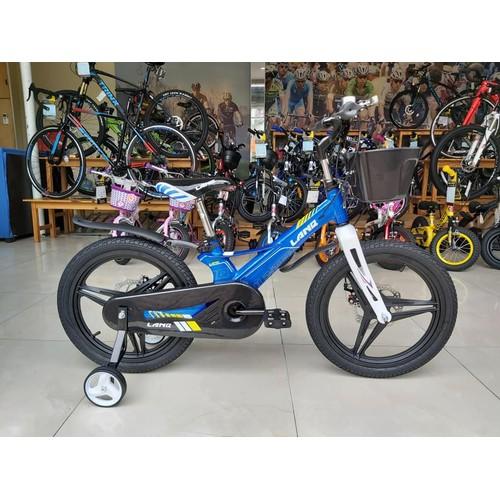 Xe đạp trẻ em lanq hunter fd1850 2019 blue bánh mâm