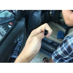 Cuộn zoăng B gioăng chữ B dài đến 25m giảm chấn chống ồn mở cửa xe hơi ô tô nắp cốp nắp capo