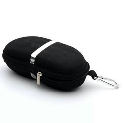Hộp đựng kính cao cấp có móc cài. Màu đen sang trọng. Kiểu dáng độc, lạ, chắc chắn, có thể biến tấu thành hộp đựng các vật dụng khác. như: ví đựng tiền, điện thoại, mỹ phẩm.