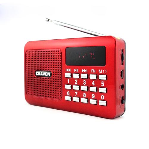 Radio mini nghe đài, nghe nhạc thẻ nhớ, usb craven cr-16 - 13062063 , 21099788 , 15_21099788 , 135000 , Radio-mini-nghe-dai-nghe-nhac-the-nho-usb-craven-cr-16-15_21099788 , sendo.vn , Radio mini nghe đài, nghe nhạc thẻ nhớ, usb craven cr-16