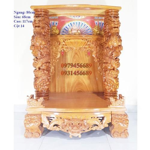 Bàn thờ thần tài ông địa gỗ gõ đỏ ngang 80cm quỳ trụ hộp đèn cột 14 rồng phun lửa - 12291949 , 21086844 , 15_21086844 , 18400000 , Ban-tho-than-tai-ong-dia-go-go-do-ngang-80cm-quy-tru-hop-den-cot-14-rong-phun-lua-15_21086844 , sendo.vn , Bàn thờ thần tài ông địa gỗ gõ đỏ ngang 80cm quỳ trụ hộp đèn cột 14 rồng phun lửa