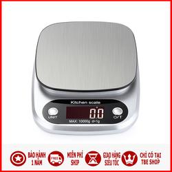 Cân Điện Tử Nhà Bếp Mini 10kg Hợp Kim Thép TBE Shop