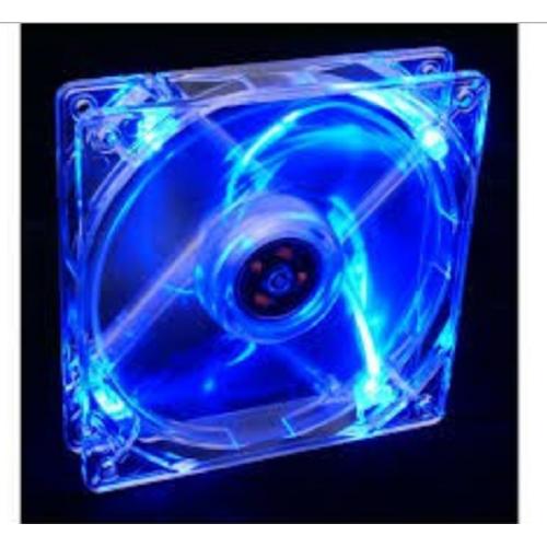 Fan led trong suốt 12cm làm mát cho case máy tính