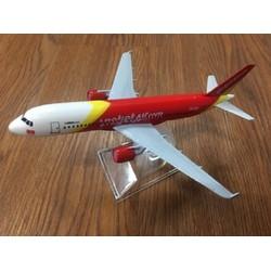 Mô hình máy bay Vietjet air 16cm
