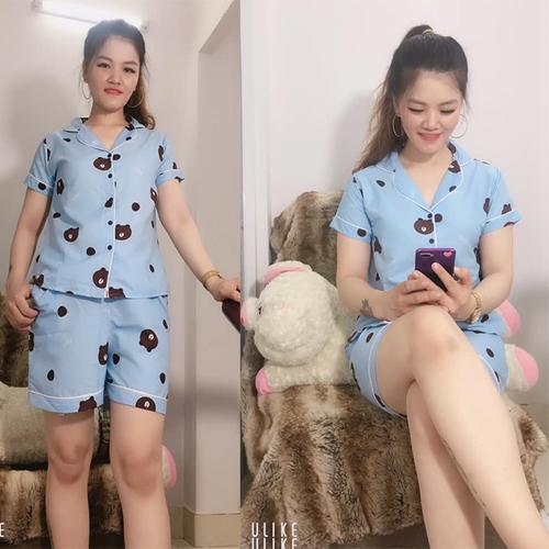 Đồ bộ pijama đùi nữ mặc nhà
