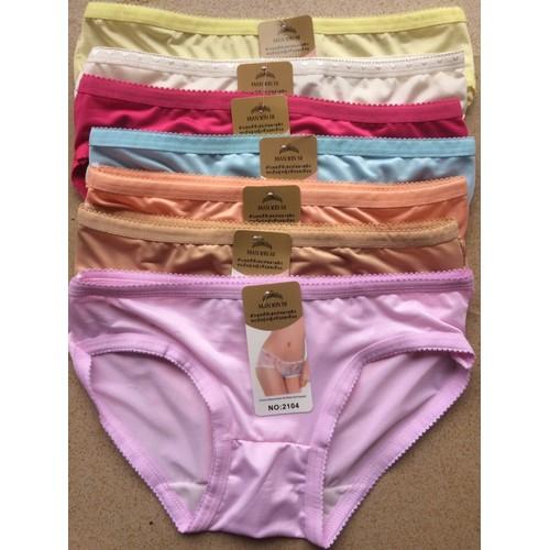 Set 10 quần lót nữ các màu