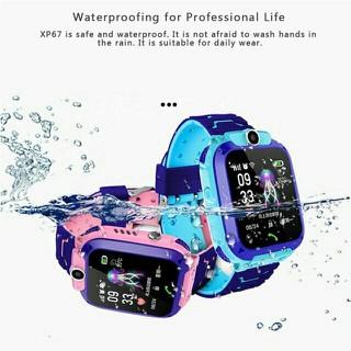 Đồng Hồ Định Vị Trẻ Em Q12 - Nghe gọi, định vị, có Camera. Máy chống nước Ip67 - Đồng Hồ Định Vị Q12 thumbnail