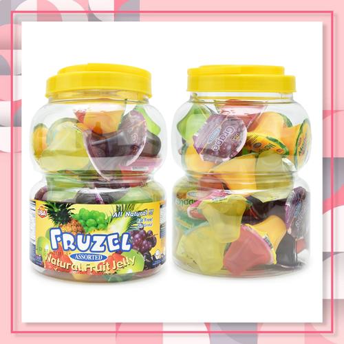 Rau câu fruzel natural fruit jelly hương trái cây|rau cau fruzel xuất xứ mỹ 1,45kg 38 viên