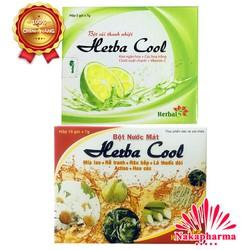 ✅ [CHÍNH HÃNG] Bột nước mát Herba Cool – Giúp thanh nhiệt, mát huyết, lợi tiểu, giảm nóng trong người, giải độc gan