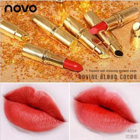 Son lì Bấm Thỏi Vàng Novo Silky Lipstick - Sonlì Thỏi Vàng Novo