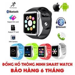 Đồng hồ thông minh Smart Watch A1 + Kèm Sim Viettel nghe gọi – lắp sim nghe gọi nhắn tin bluetooth – A1
