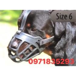 SALE KHỦNG rọ mõm silicon cho chó rọ mõm cho chó hàng đẹp