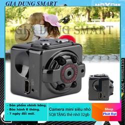 [Cực Sốc TẶNG KÈM THẺ NHỚ 64GB ] Camera hành trình siêu nhỏ - Camera mini hành trình SQ.8 HD1080P hỗ trợ quay đêm [TC]
