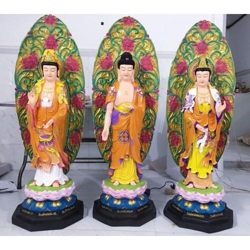 Bộ tượng tây phương tam thánh 1m35 cả chiều cao lá đề - 13058656 , 21095247 , 15_21095247 , 11000000 , Bo-tuong-tay-phuong-tam-thanh-1m35-ca-chieu-cao-la-de-15_21095247 , sendo.vn , Bộ tượng tây phương tam thánh 1m35 cả chiều cao lá đề