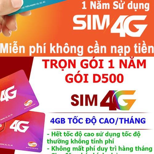 Sim viettel d500 lên mạng trọn gói 12 tháng một năm không nạp tiền - 13051446 , 21086004 , 15_21086004 , 350000 , Sim-viettel-d500-len-mang-tron-goi-12-thang-mot-nam-khong-nap-tien-15_21086004 , sendo.vn , Sim viettel d500 lên mạng trọn gói 12 tháng một năm không nạp tiền