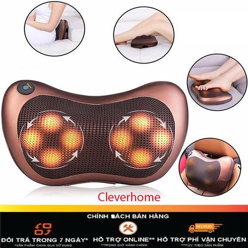 ️gối massage hồng ngoại đa năng pl-819 6 quả cầu cho bạn cảm giác thoải mái sau một ngày dài mệt mỏi