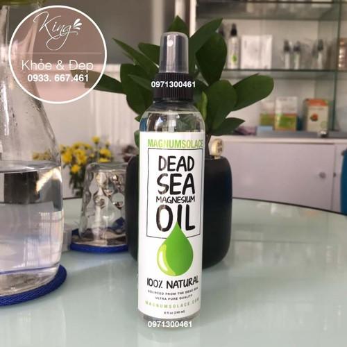 Dầu magiê - dead sea magnesium oil - large 240 ml, 8 oz