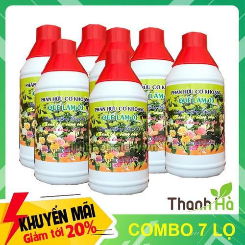 7 lọ - phân bón quế lâm 03 dinh dưỡng đồng bộ cho hoa, cây cảnh - 13048252 , 21082254 , 15_21082254 , 95000 , 7-lo-phan-bon-que-lam-03-dinh-duong-dong-bo-cho-hoa-cay-canh-15_21082254 , sendo.vn , 7 lọ - phân bón quế lâm 03 dinh dưỡng đồng bộ cho hoa, cây cảnh