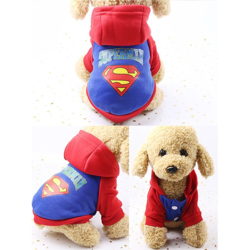 Siêu giảm giá quần áo cho chó mèo áo nỉ superman 2 chân đỏ xanh - 13368499 , 21576852 , 15_21576852 , 55000 , Sieu-giam-gia-quan-ao-cho-cho-meo-ao-ni-superman-2-chan-do-xanh-15_21576852 , sendo.vn , Siêu giảm giá quần áo cho chó mèo áo nỉ superman 2 chân đỏ xanh