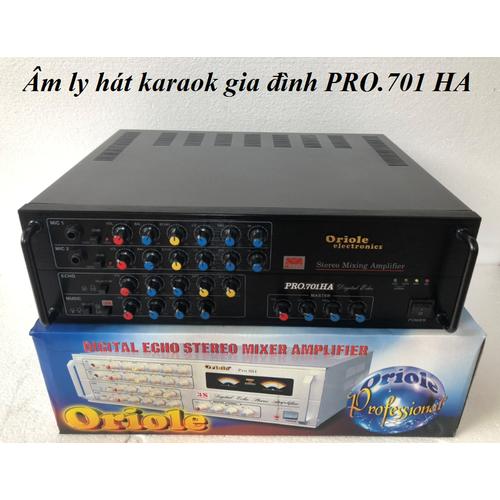 Âm ly karaoke âm ly nge nhạc amply oriole pro.701ha