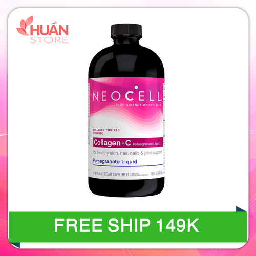 Nước neocell collagen c pomegranate liquid chiết xuất từ lựu| nuoc neocell collagen xuất xứ mỹ 473ml