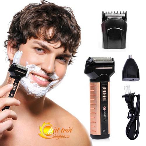 Tông đơ boteng 3in1 - tông đơ cắt tóc kiêm máy cạo râu