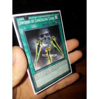 Thẻ bài Yugioh hàng chính hãng Swords of Concealing Light Common - 40003 thumbnail