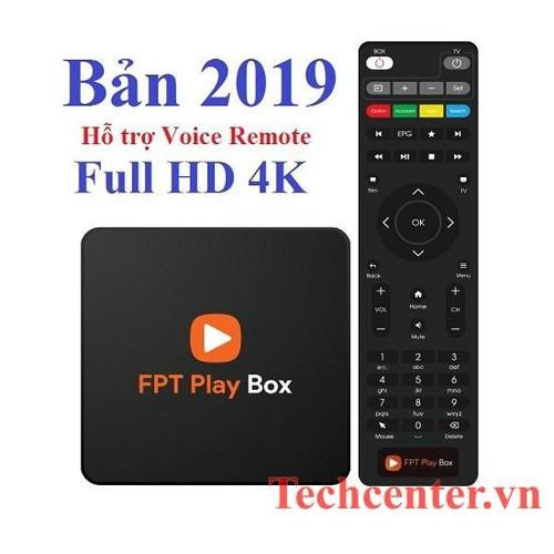 FPT PLAY BOX+ 2019 Tích Hợp Remote Voice Điều Khiển Tìm Kiếm Giọng Nói
