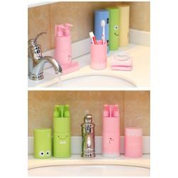 Hộp đựng dụng cụ vệ sinh cá nhân bàn chải, kem đánh răng,sữa tắm dầu gội du lịch-Cao Cấp