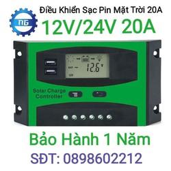 Điều khiển sạc pin mặt trời 20A