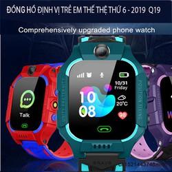 Đồng hồ định vị trẻ em Q19 thế hệ 6 bản 2019  bản tiếng việt